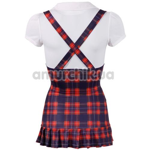 Костюм школьницы Cottelli Collection Costumes, красно-синий