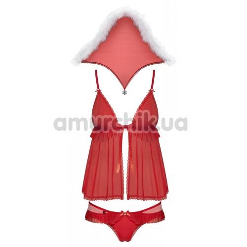 Костюм новогодний Obsessive 851-CST-3, красный