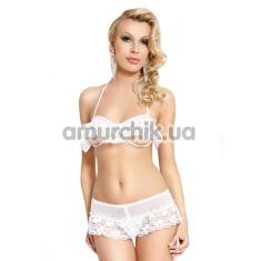 Купить Комплект Adria белый: бюстгалтер + трусики-шортики