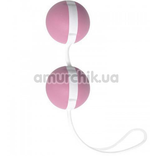 Вагинальные шарики Joyballs Trend, розово-белые - Фото №1