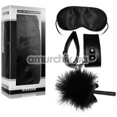Бондажный набор Deluxe Bondage Kit, черный