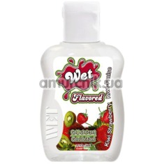 Лубрикант Wet Flavored Kiwi Strawberry 42g - Фото №1