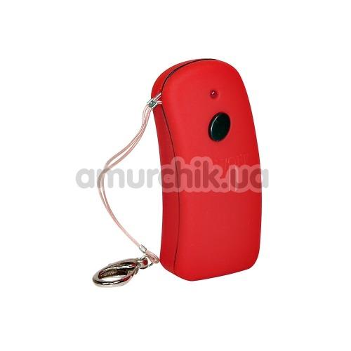 Виброяйцо с дистанционным пультом Bad Kitty Vibro Bullet красное