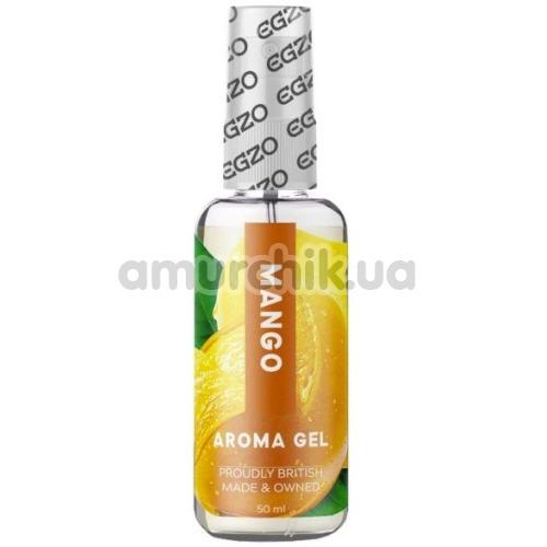Оральный лубрикант EGZO Aroma Gel Mango - манго, 50 мл - Фото №1