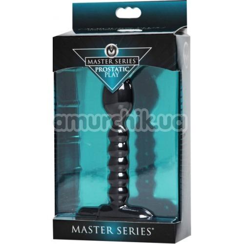 Вибростимулятор простаты Master Series Prostatic Play, черный