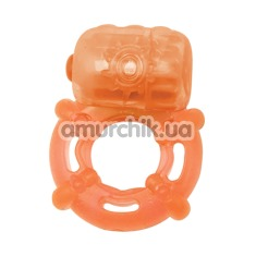 Виброкольцо Climax Juicy Rings, оранжевое - Фото №1