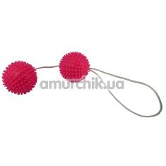 Вагинальные шарики Eggs & Bullets розовые - Фото №1