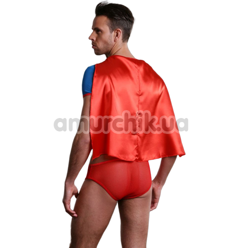 Костюм супермена Dolce Piccante мужской, чёрный