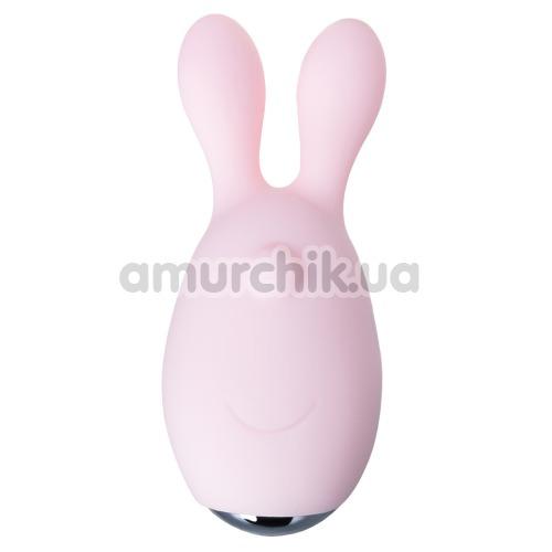 Набор JOS Vita: виброяйцо + вибронасадка на палец, светло-розовый