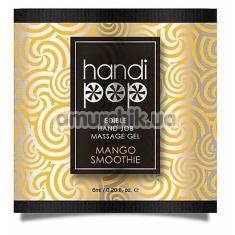 Гель для массажа Sensuva Handipop Mango Smoothie - манговое смузи, 6 мл - Фото №1