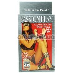 Бондажный набор Tera Patrick's Leopard Passion Play - Фото №1