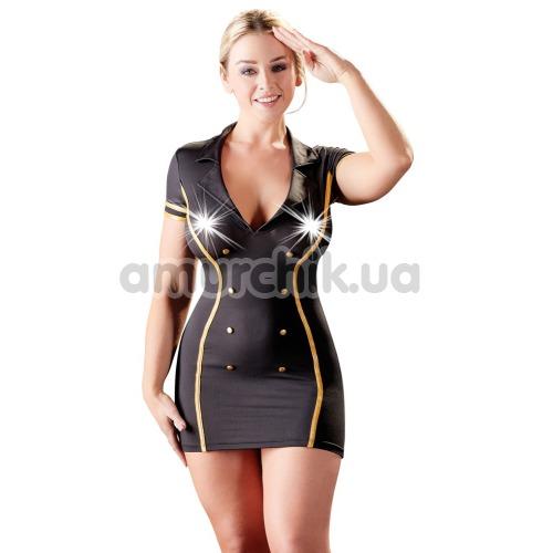 Костюм стюардессы Cottelli Collection Costumes 2470730, чёрный - Фото №1