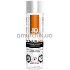 Анальный лубрикант JO Anal Premium Warming на силиконовой основе - согревающий эффект, 135 мл - Фото №1