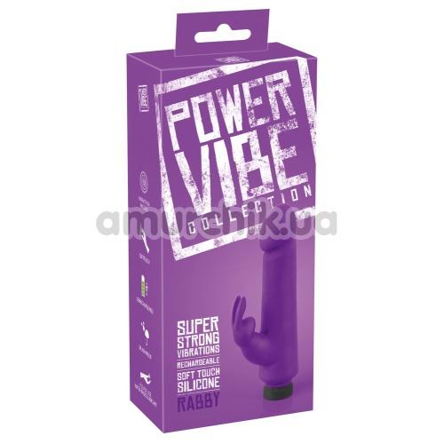 Вибратор Power Vibe Collection Rabby, фиолетовый