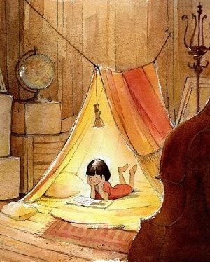 Волшебный мир шалашей займет Ваших малышей