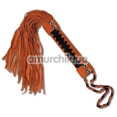 Плеть оранжевая (мини-флоггер) WP-34F - Фото №1