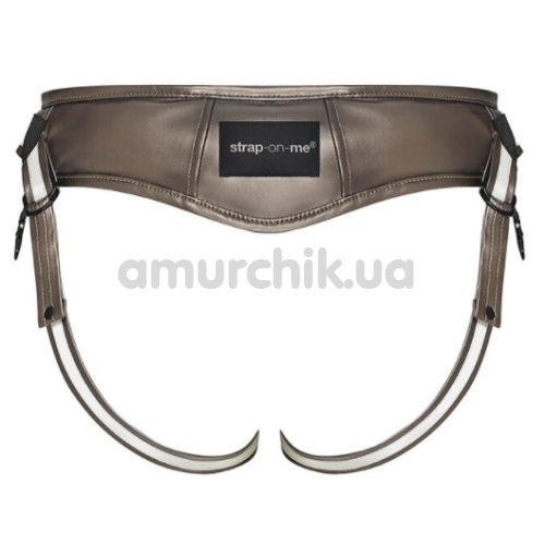 Трусики для страпона Strap-On-Me Desirous Harness, бронзовые