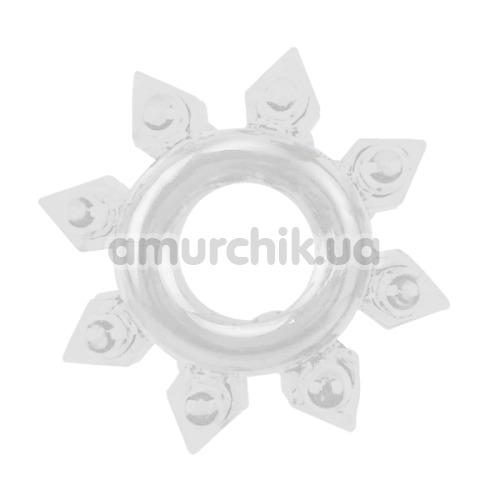 Набор из 4 эрекционных колец Get Lock Cock Rings Set, прозрачный