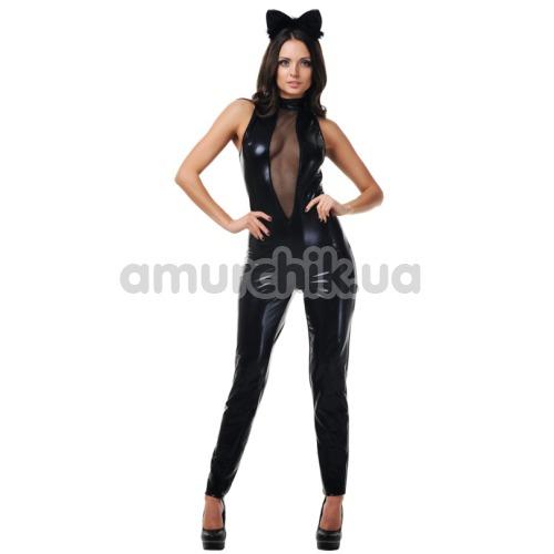 Костюм кошки LeFrivole Catwoman Costume, чёрный - Фото №1