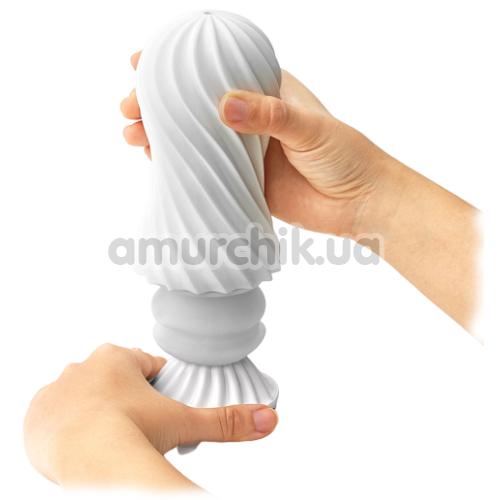 Мастурбатор Tenga Flex Silky, белый