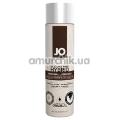 Лубрикант JO Silicone Free Hybrid Personal Lubricant - кокос, 120 мл - Фото №1