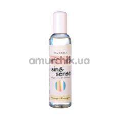 Массажное масло Sin & Sense Massage Oil Marzipan - марципан, 150 мл - Фото №1