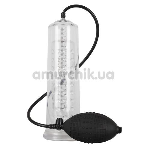 Вакуумная помпа Mister Boner Fantastic Power Pump, прозрачная - Фото №1