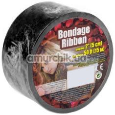Бондажная лента sLash Bondage Ribbon, черная - Фото №1