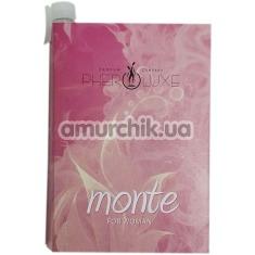 Туалетная вода с феромонами Pheroluxe Monte - реплика Hugo Boss Deep Red, 2 мл для женщин - Фото №1