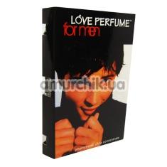 Духи с феромонами Love Perfume концентрат без запаха, пробник 1,5 мл для мужчин - Фото №1