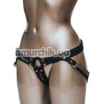 Трусики для страпона Fun Factory Harness For Dildos Strap & Bound, черные - Фото №1