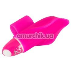 Вибронапалечник для стимуляции клитора Little Dolphin, розовый - Фото №1