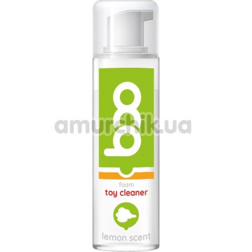 Антибактериальная пенка для очистки секс-игрушек Boo Foam Toy Cleaner Lemon Scent, 160 мл