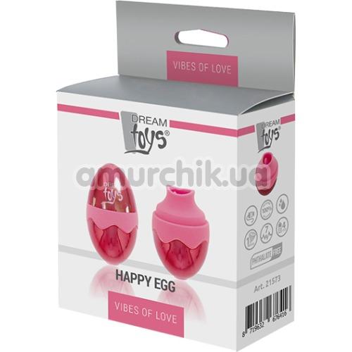 Симулятор орального секса для женщин Vibes Of Love Happy Egg, красный