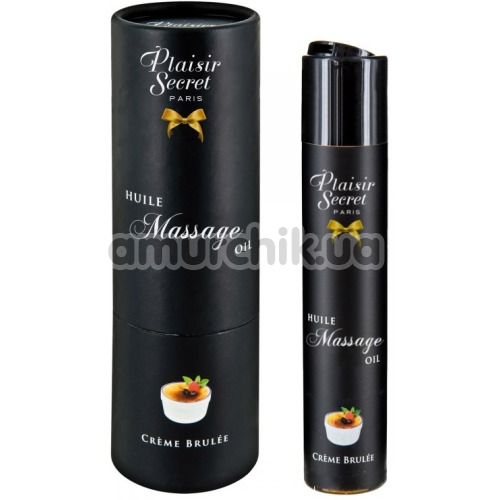 Массажное масло Plaisir Secret Paris Huile Massage Oil Creme Brulee - крем-брюле, 59 мл