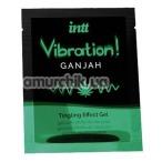 Возбуждающий гель с эффектом вибрации Intt Vibration Ganjah Tingling Effect Gel - ганжа, 5 мл - Фото №1