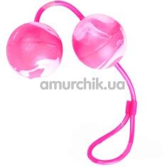 Купить Вагинальные шарики Oscilating Duo Balls, розовые