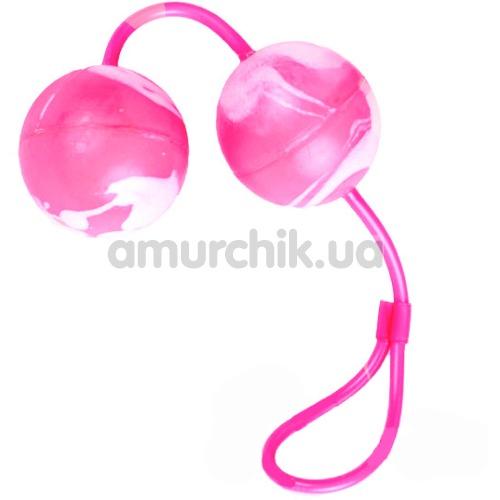 Вагинальные шарики Oscilating Duo Balls, розовые