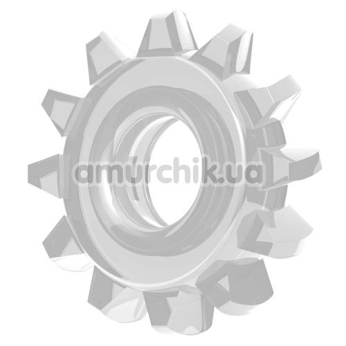 Эрекционное кольцо Power Plus Cock Ring Series LV1432, прозрачное