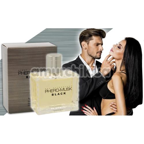 Духи с феромонами Phero-Musk Black для мужчин, 100 мл