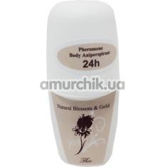 Антиперспирант с феромонами Natural Blossom&Gold Fler, 50 мл