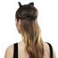 Маска Кошечки Bijoux Indiscrets Maze Head Harness With Cat Ears, черная - Фото №7