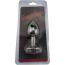 Анальная пробка с синими кристаллами Seamless Butt Plug Starting Silver Metal S, серебряная - Фото №9