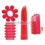 Набор из 4 предметов Climax Kit, красный - Фото №1