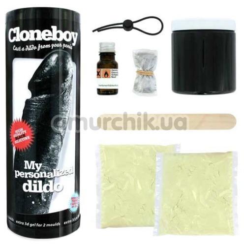 Набор для изготовления копии пениса Cloneboy My Personalized Dildo, черный - Фото №1