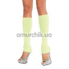 Гетры Ribbed Leg Warmers, салатовые - Фото №1
