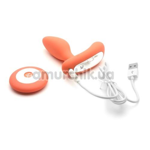 Вибростимулятор простаты KissToy Gordon, оранжевый