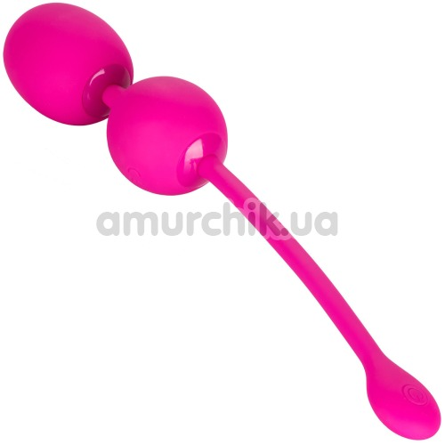 Вагинальные шарики с вибрацией Rechargeable Dual Kegel, розовые