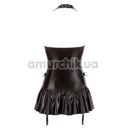Корсет с фиксаторами для рук Cotelli Collection Strapskleid, черное