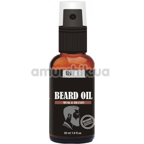 Средство для бороды с мускусом и бренди Inside Beard Oil Musk & Brandy, 30 мл